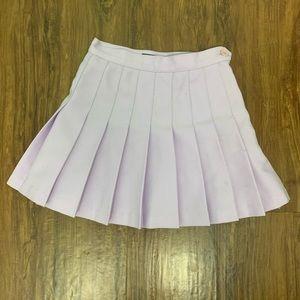 Lavender AA tennis skirt